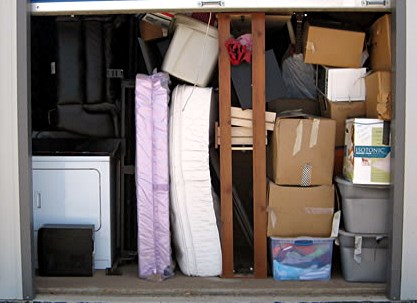 storage unit packed right