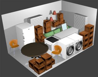 storage unit 10x15